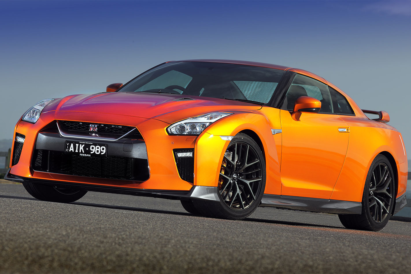 2017 Nissan GT-R front static