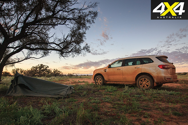 Camping with the Ford Everest Trend