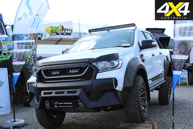 Ford Ranger M-Sport conversion