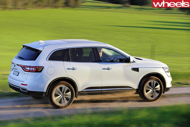 Renault -Koleos -top -side -driving -rear