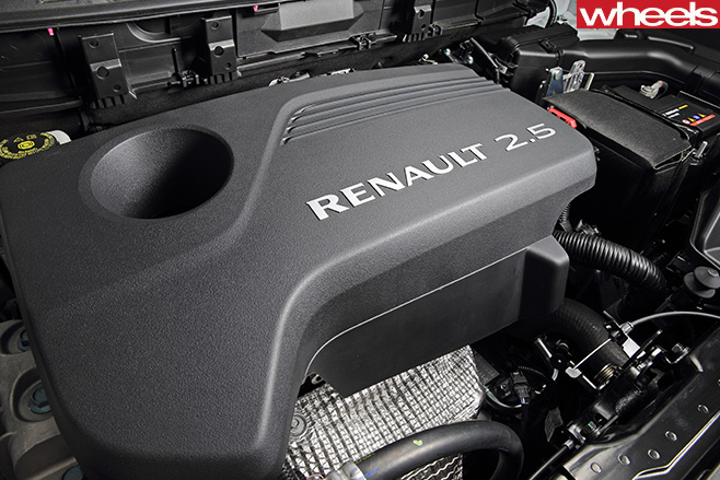 Renault -Koleos -engine