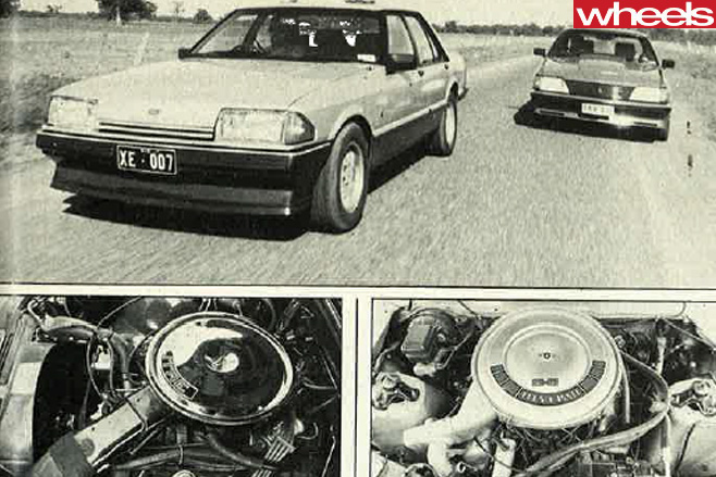 Ford -Falcon -vs -Holden -Commodore -1982