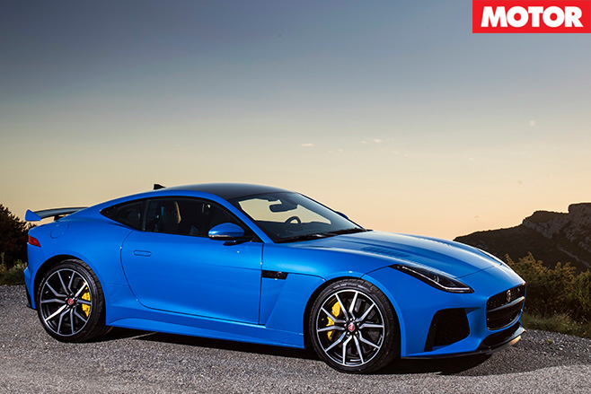 Jaguar F-Type SVR side
