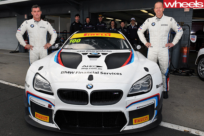 BMW-M3-GT3-racing -at -Bathurst -12-hour -drivers