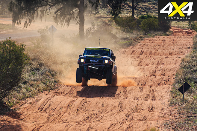 Driving over terrain