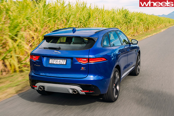Jaguar -F-Pace -rear -side