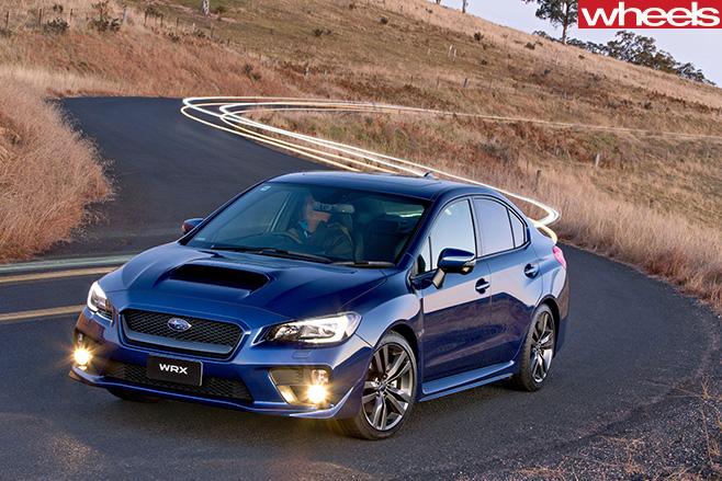 Subaru -WRX-front -side