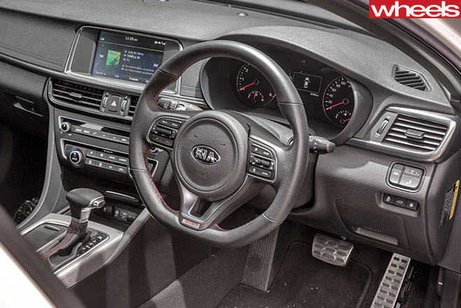 Kia -Optima -GT-interior