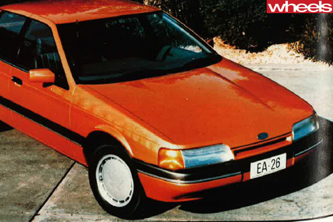 1988-Ford -Falcon -EA-26-world -global -reveal -front