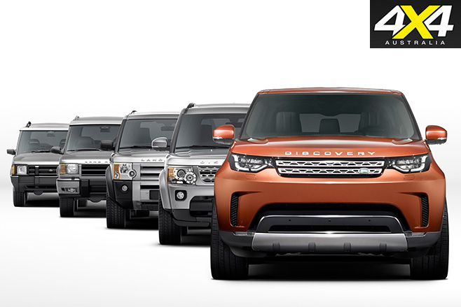 Land rover discovery evolvement