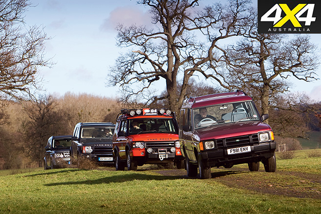 4 land rover discovery models