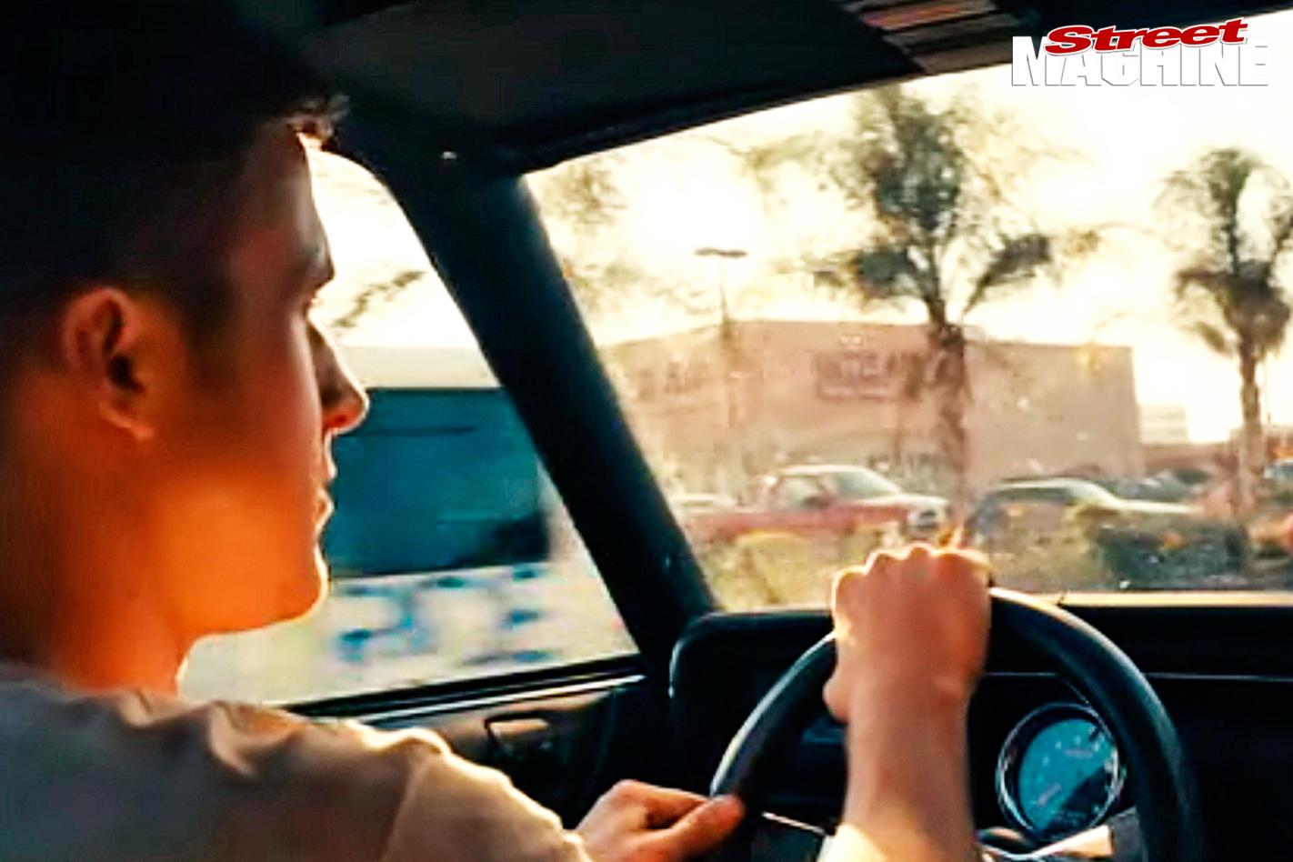 Drive -2011-1973-Chevelle -Ryan -Gosling -interior