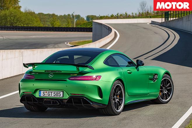 Mercedes-AMG GT R rear side