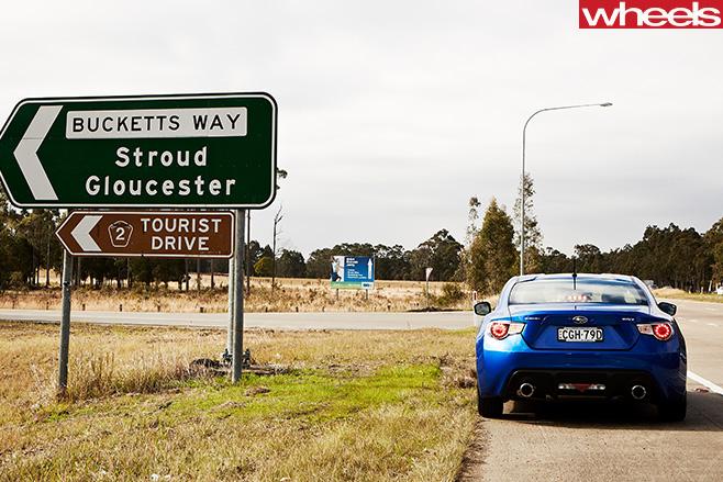Subaru -BRZ-Bucketts -way -road