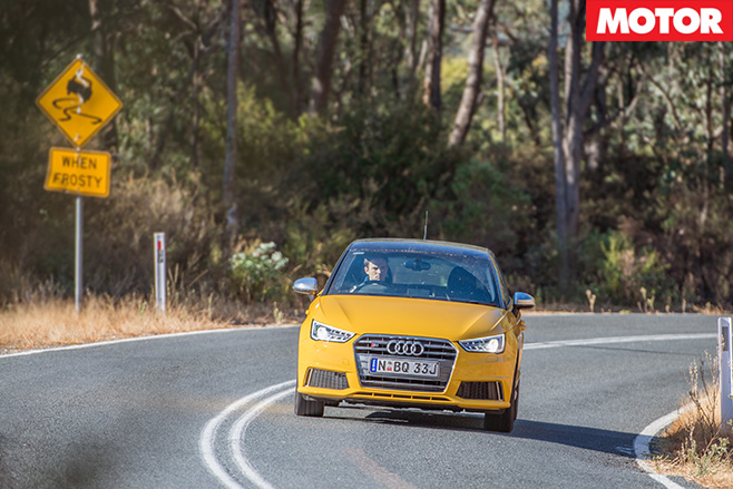 Audi -s 1-driving -straight