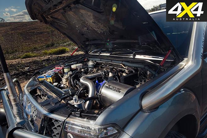 Custom 2.5l navara engine