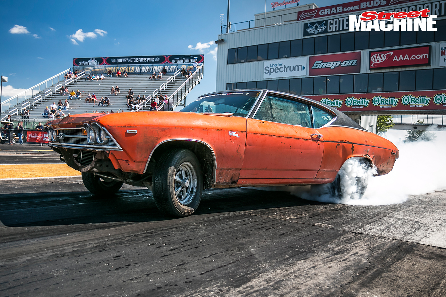 Chevy Chevelle Drag Week 2