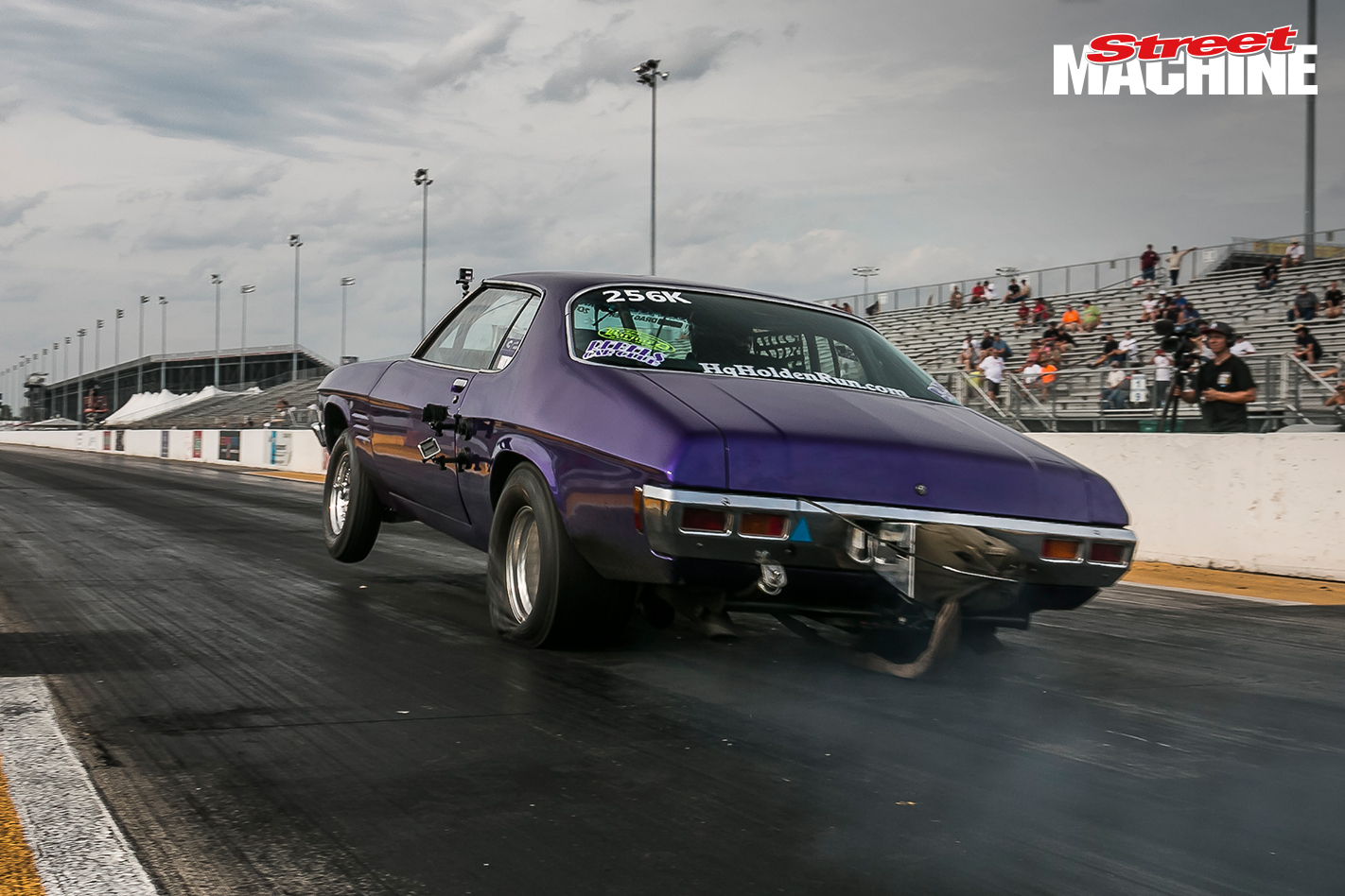 Holden HQ Monaro Trapnell Drag Week 1