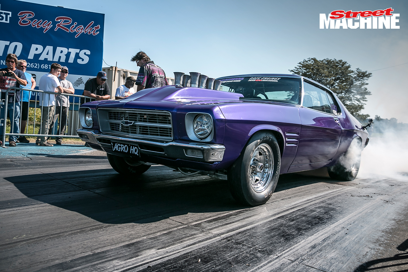 Holden HQ Monaro Trapnell Drag Week 2