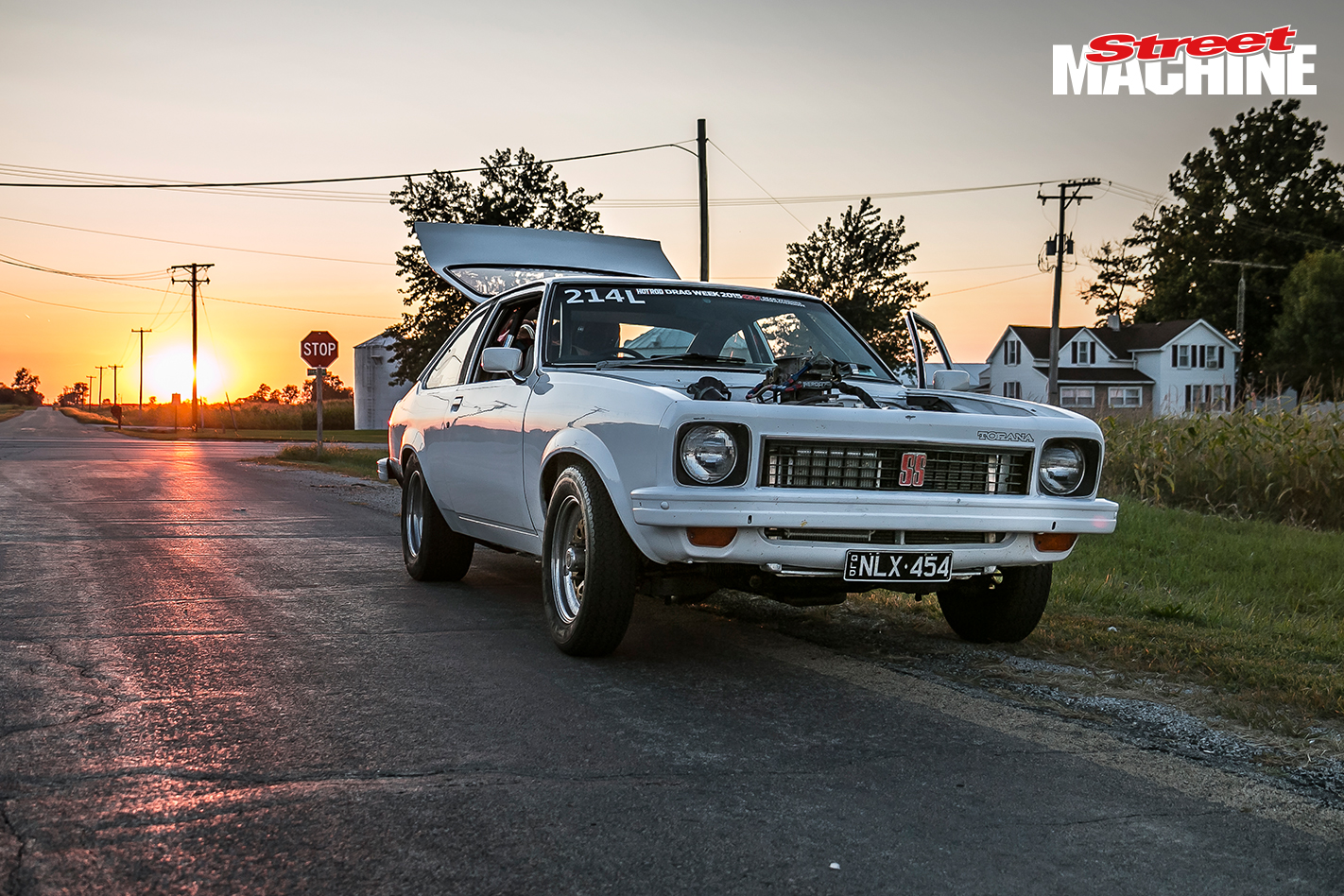 Holden LX Torana Hatch Drag Week 2