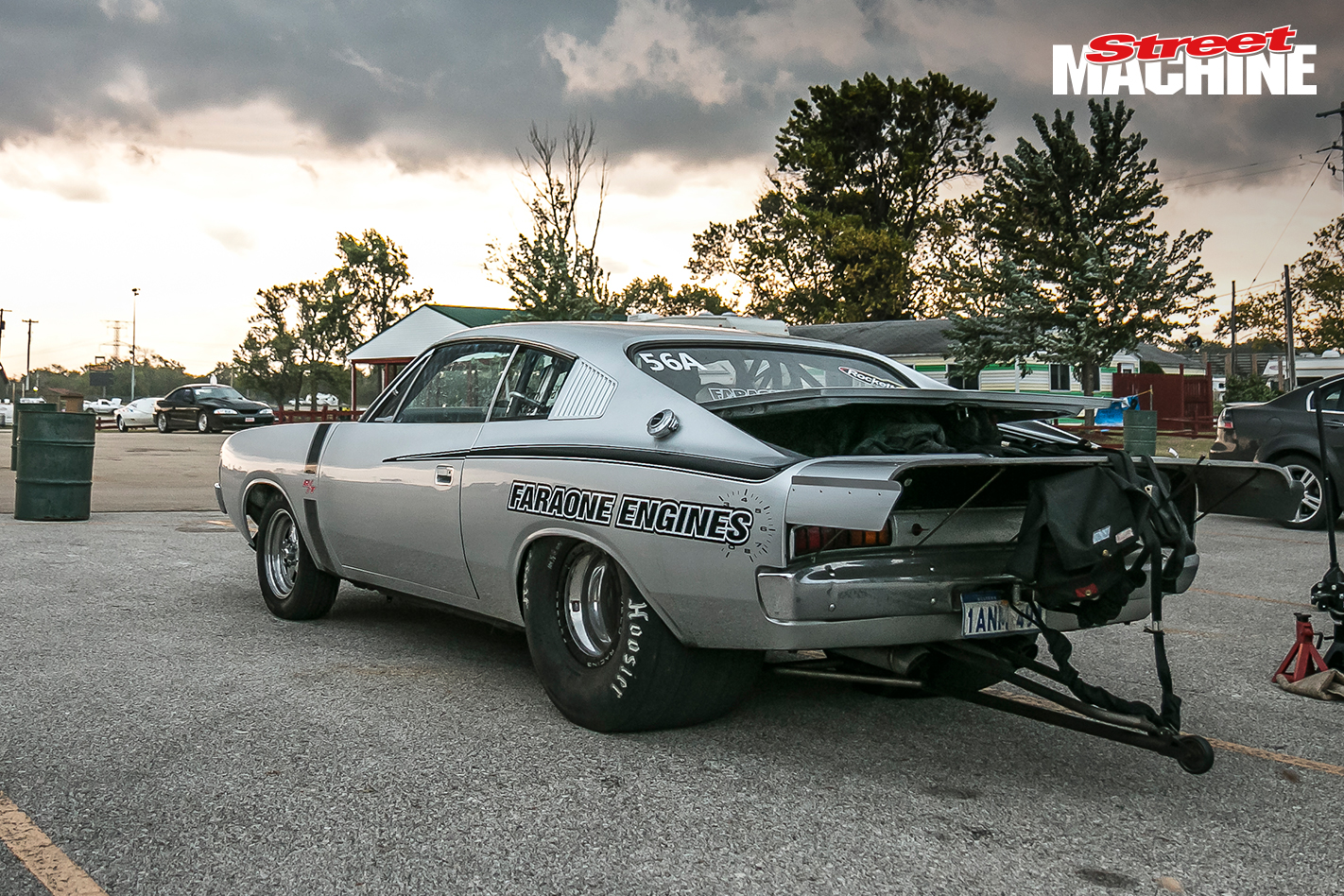 Valiant Charger Faraone Drag Week 2