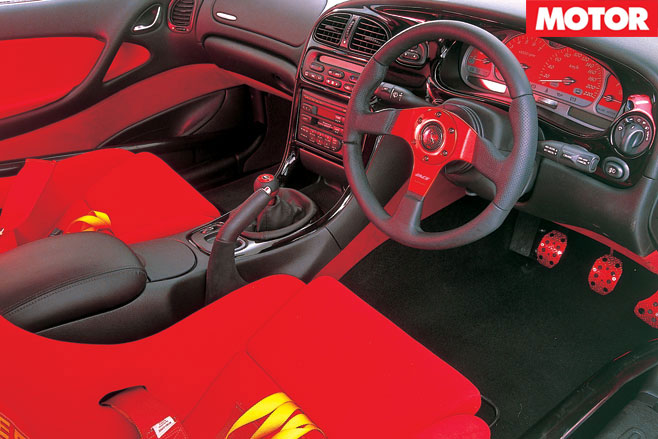 Peter Brock Monaro interior