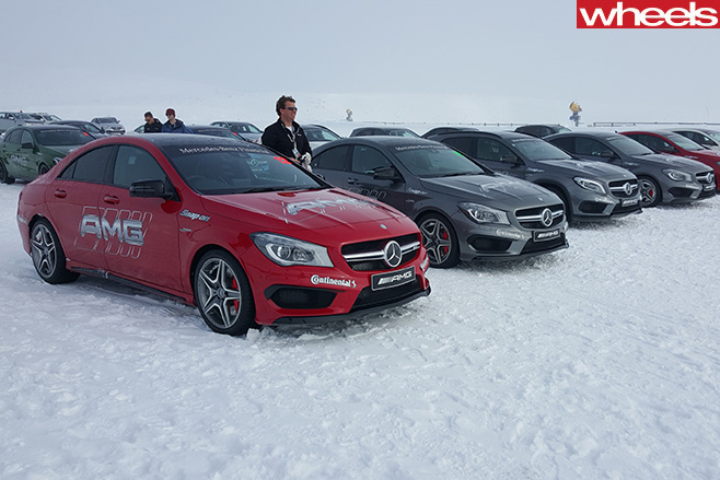 Mercedes -AMG-drifting -training