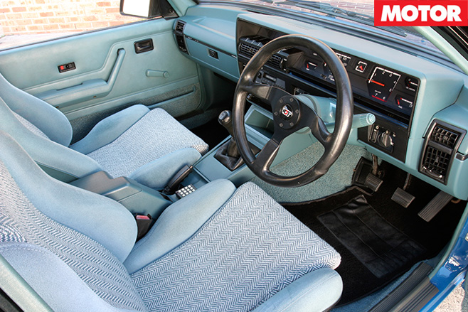 Brocks HDT commodore interior