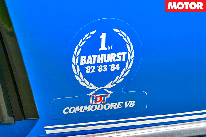 Bathurst winner badge