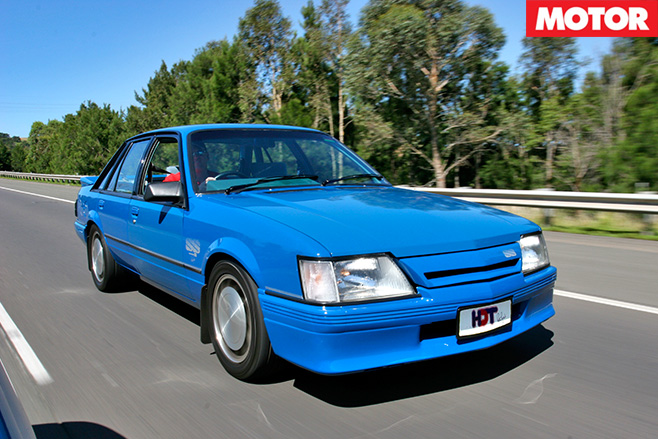 Brocks hdt vk group a commodore front driving