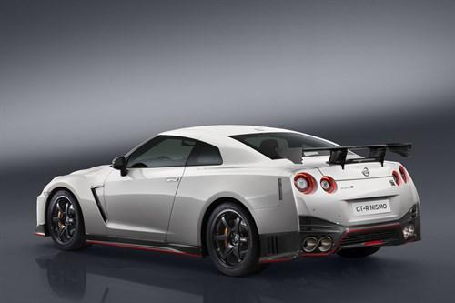 2017 Nissan GT-R NISMO rear
