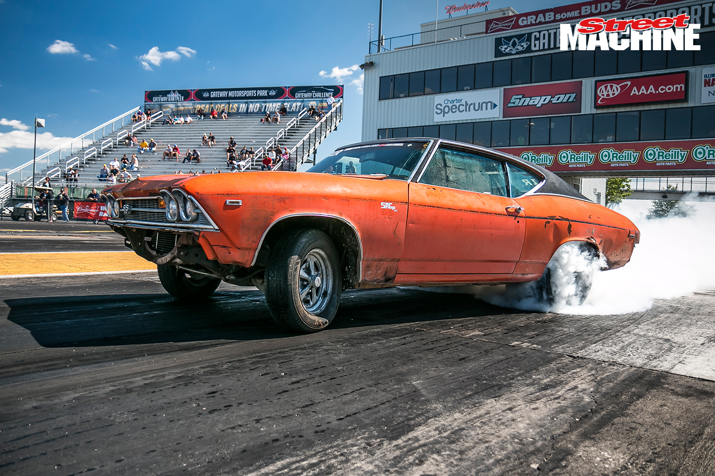 Chevelle Rusty Burnout