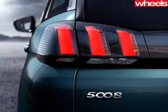 Peugeot 5008 taillight