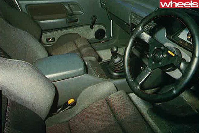 Ford -Falcon -XF-SVO-interior