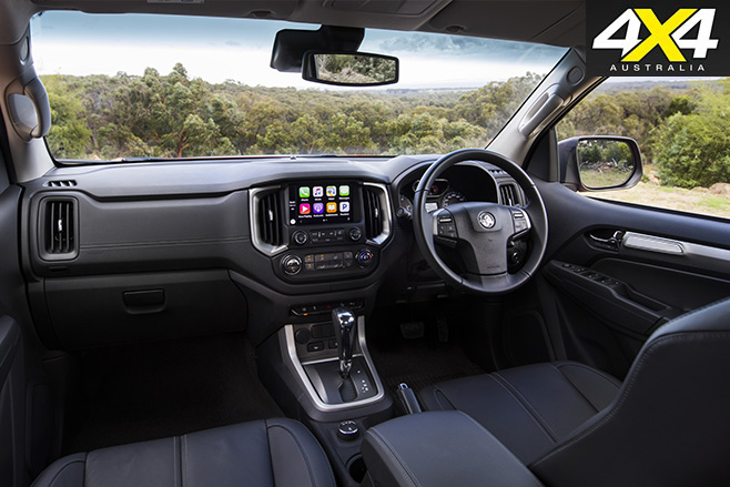 2017 Holden Trailblazer interior