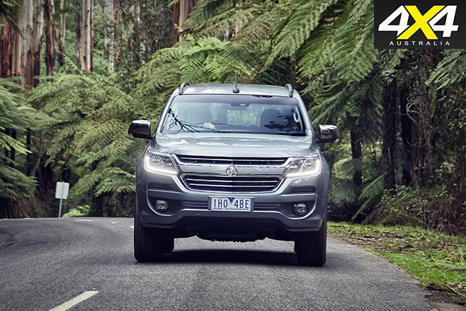 2017 Holden Trailblazer front