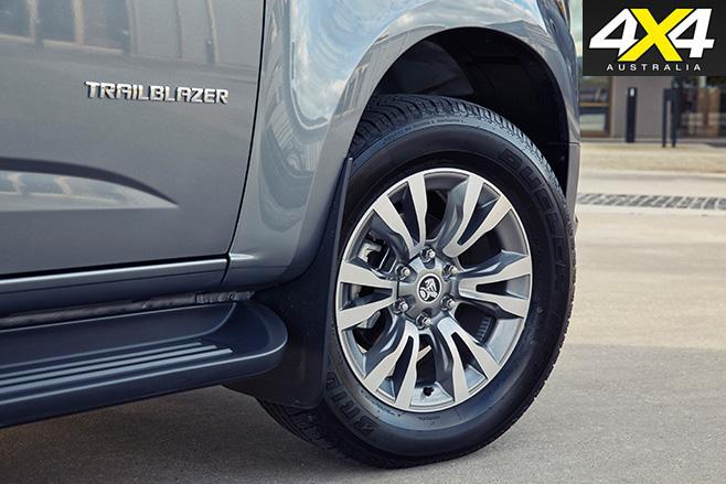 Trailblazer tyres