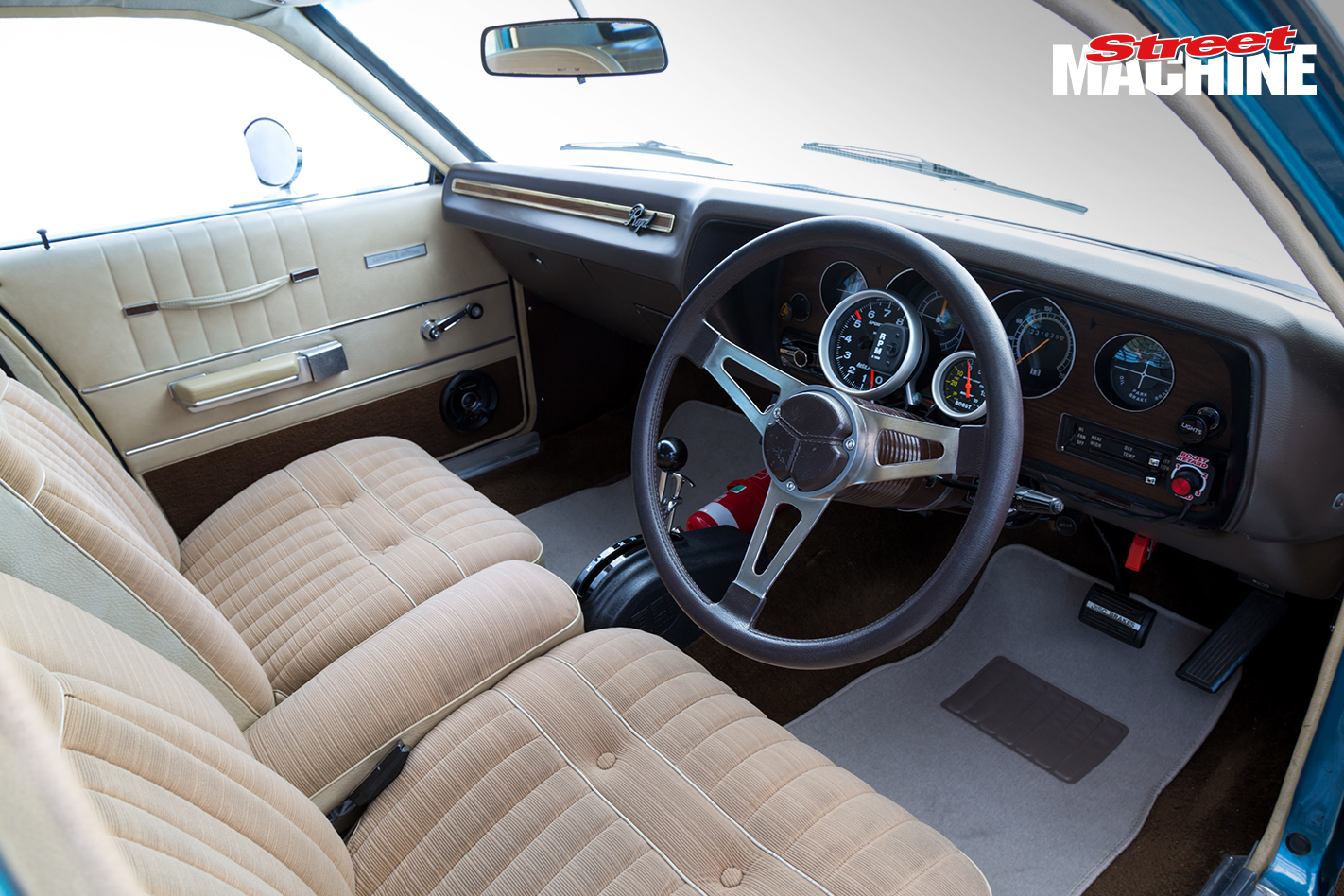 Chrysler Valiant Regal Interior 6