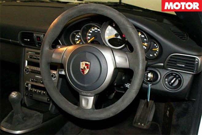 2007 Porsche 911 GT3 for sale interior