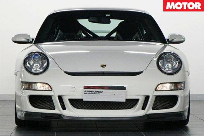 2007 Porsche 911 GT3 for sale front