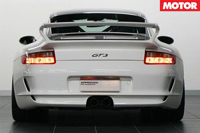 2007 Porsche 911 GT3for sale rear