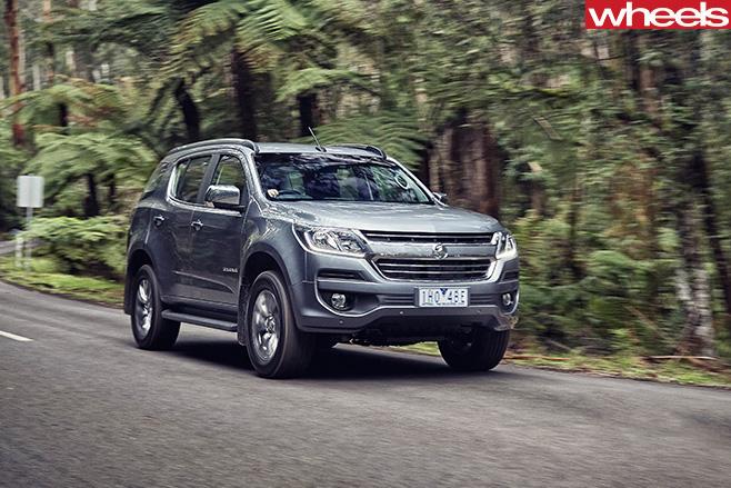 Holden -Trailblazer -seven -seat -SUV-front