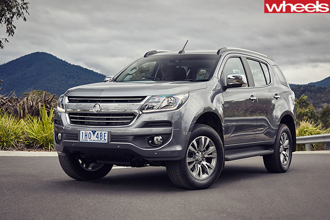 Holden -Trailblazer -seven -seat -SUV-front -side