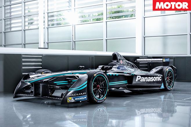 Jaguar I-Type launches Formula-E front