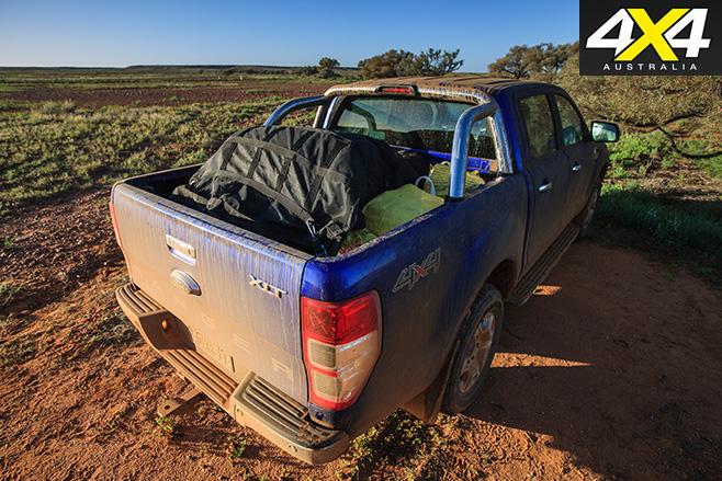 Ford ranger rear tray