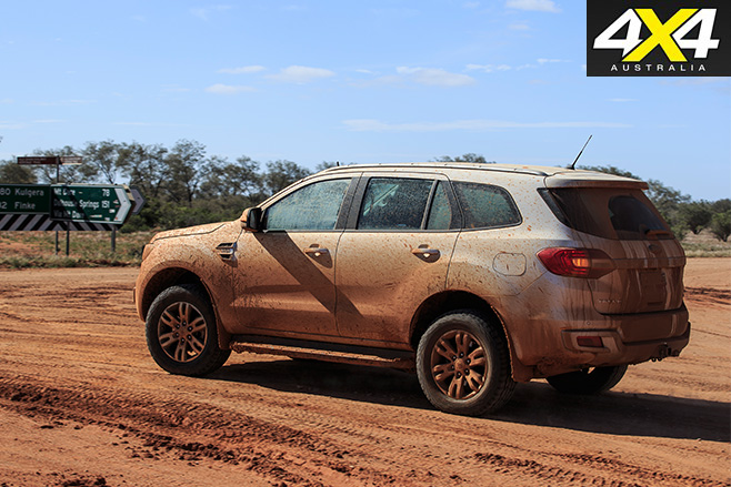 Ford Everest Trend side -driving