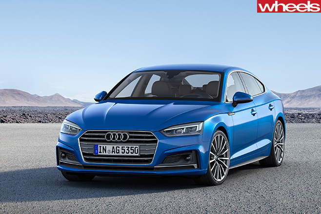 Audi -A5-and -S5-front -side