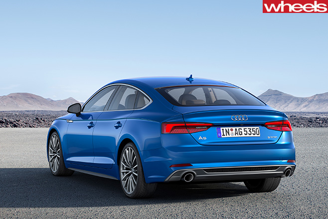 Audi -A5-and -S5-rear -side