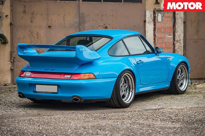 Porsche 911 GT2 rear