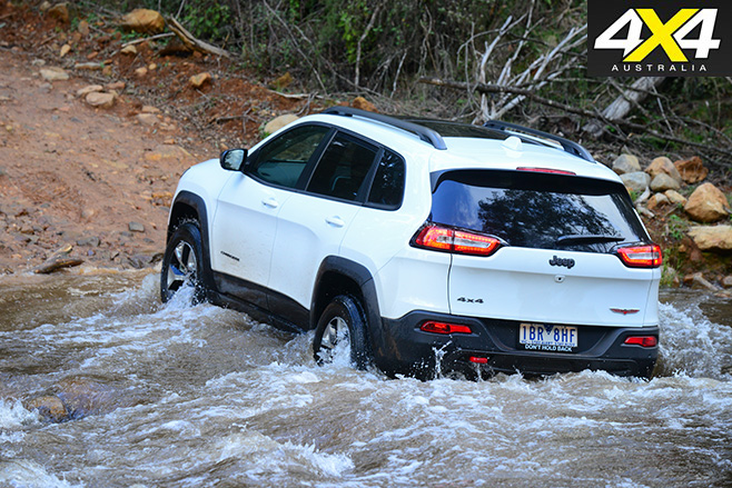 Jeep Cherokee recall rear